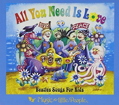 Various - All You Need Is Love-Beatles F - Various CD APVG The Cheap Fast Free