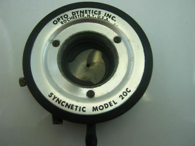 Opto Dynetics Syncnetic Model 20C Double Shutter Pupil Used