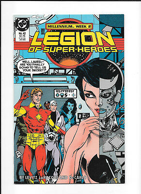 Legion Of Super Heroes #42 (8.0) Dc Copper