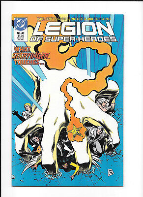 Legion Of Super Heroes #40 (8.5) Dc Copper