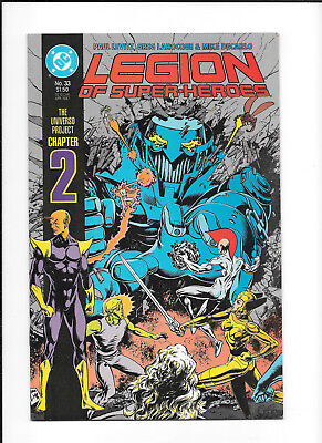 Legion Of Super Heroes #33 (8.0) Dc Copper