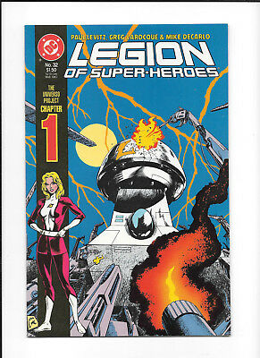 Legion Of Super Heroes #32 (8.0) Dc Copper