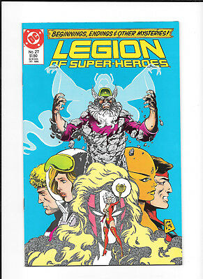Legion Of Super Heroes #27 (9.2) Dc Copper