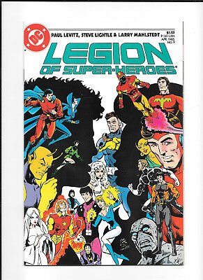 Legion Of Super Heroes #9 (9.4) Dc Copper