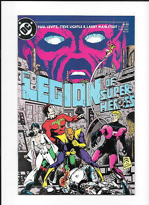 Legion Of Super Heroes #8 (7.0) Dc Copper
