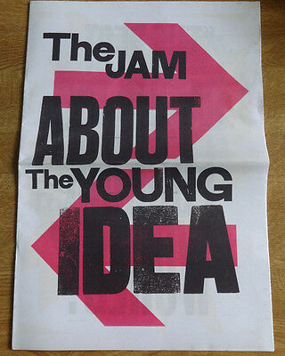 The Jam, About The Young Idea exhibition print publication, Somerset House