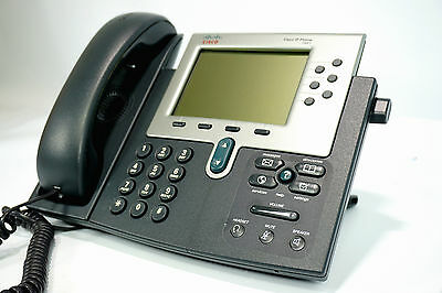 Cisco IP Phone Telefon POE VoiP / Voice over IP Business CP-7961G Voice over Ip