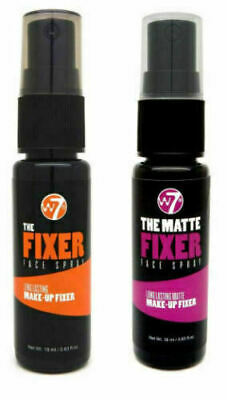 NEW W7 The Fixer Face Spray - Long Lasting Makeup Fixing Setting Spray