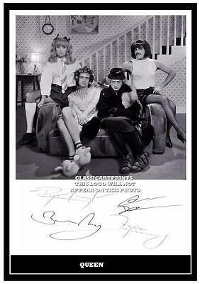 287. Queen Freddie Mercury  Signed A4  Photograph ...++++++++