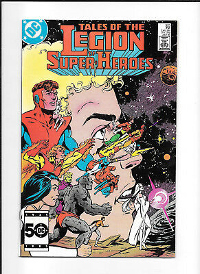 Legion Of Super Heroes #325 (8.0) Dc Copper