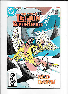 Legion Of Super Heroes #321 (7.0) Dc Copper