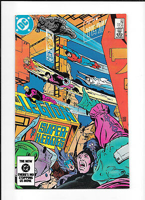 Legion Of Super Heroes #313 (9.2+) Dc Copper