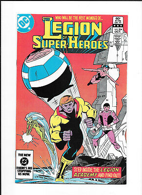 Legion Of Super Heroes #304 (7.5) Dc Copper