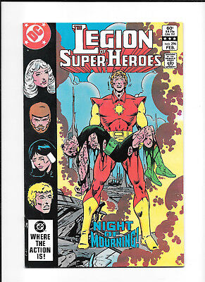Legion Of Super Heroes #296 (7.0) Dc Copper