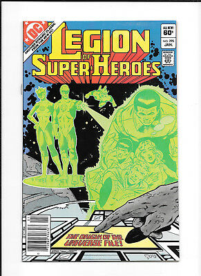 Legion Of Super Heroes #295 (8.5) Dc Copper
