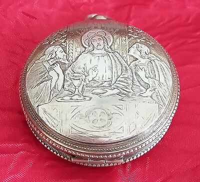 Pyx silver, vestment,  chasuble, Chalice, monstrance, catholic, silver Pyx, rare