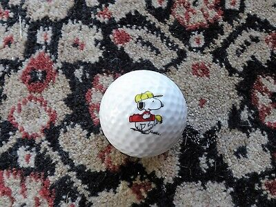 One Brand New Snoopy Golf Ball