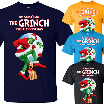 How the Grinch Stole Christmas V3, T shirt NAVY YELLOW AZURE all sizes S-5XL3