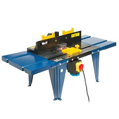 Wolf Aluminium Router Table / Spindle Moulder