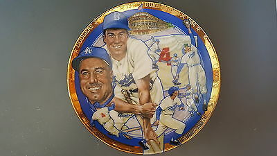 Duke Snider Brooklyn Dodgers 1992 Sports Impressions Collectors Plate