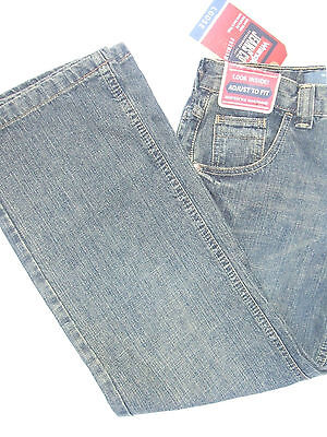 NWT Wrangler Jeans Co Kid's Loose Fit Lower Adjustable Waistband Jeans 12 NEW