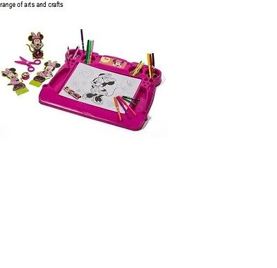 Latest Minnie Mouse Kids' Activity Desk range of arts and crafts