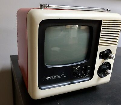 Vintage JVC 3020GM Television black and white collectors item
