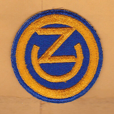 US ARMY 102nd Infantry Division Patch, WWII, Removed From Uniform, EXC