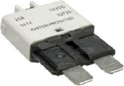 25 Amp Ato Blade Type Circuit Breaker Thermal Fuse Manual Reset 12 Volt 24 Volt