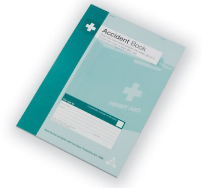 Safety First Aid Group A5 Accident/Reporting/First Aid Book