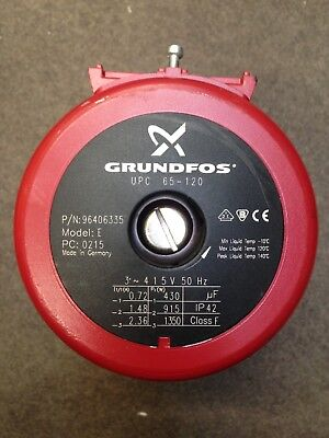 Grundfos Replacement Pump Head UPC 65-120 415V 3 phase 96406335