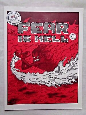 Fear Is Hell Vol. 1 No. 1 Jan 1988 C&T Graphics Publication 1st Printing VF+ 8.5