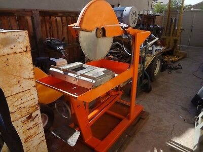 Norton Clipper 20 inch Masonary Block Saw Brick Paver Wet Saw Local Menifee CA