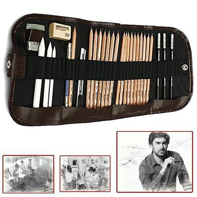 Sketch Drawing Pencils Set Art Pencil Artist Charcoal Kit Professional Sketching