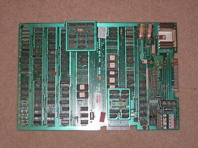 MS PACMAN Arcade Game PCB Board - 100% Working MS PAC