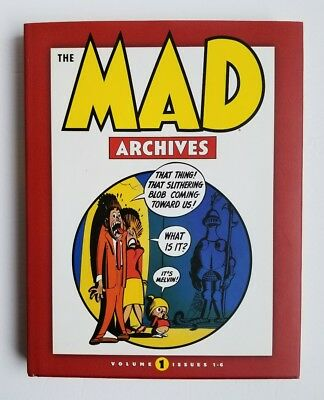 Mad Archives Vol.1 issues 1 - 6 ~ New ~ HC ~ DC Comics ~ List Price $49.95