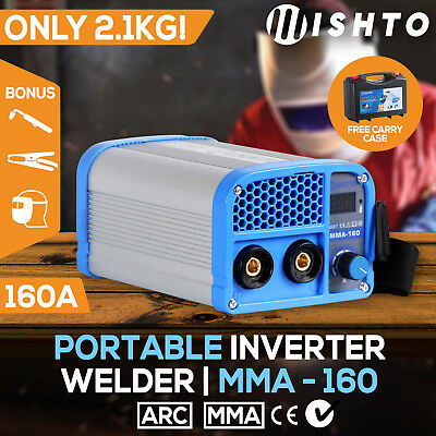 Utra-Portable 160Amp Inverter Welder MMA ARC Stick Welding Machine DC iGBT