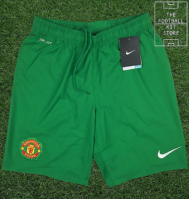 Manchester United Goalkeeper Shorts - Nike MUFC Football - *BLACK FRIDAY SALE*