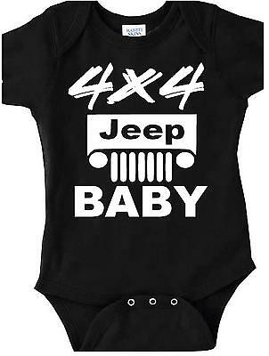 4x4 jeep baby bodysuit one piece t shirt jeeping clothes infant offroading gear