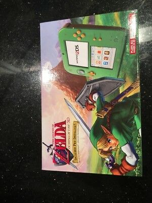 Nintendo 2DS  CONSOLE Link Edition with The Legend of Zelda: Ocarina of Time 3D