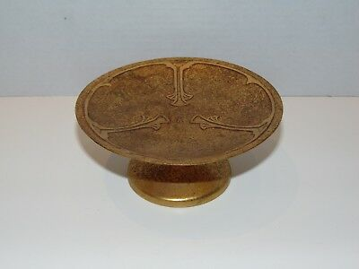 Vintage Antique Silvercrest Arts & Crafts Sterling on Bronze Small Compote