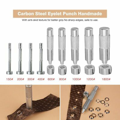 Eyelet Punch Die Tools Hole Cutter Kits Leather Craft Clothing Grommet Banner KK