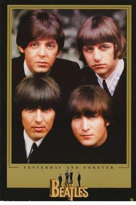 """Beatles """"Yesterday and Forever"""" poster NEW! 1995 APPLE WGC #1312"""
