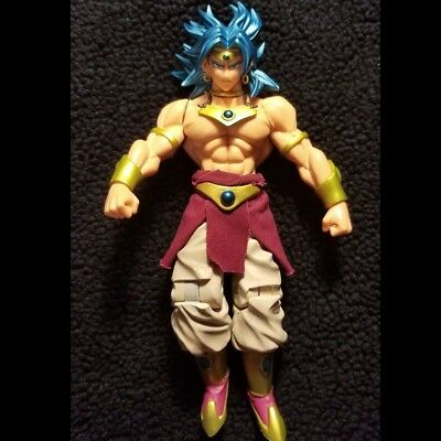 Dragonball Blue Supresed Broly Figuarts Scale