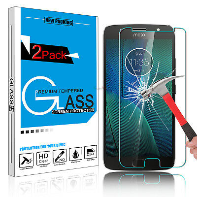 For Moto G5/G5S Plus Premium 9H Tempered Glass Screen Protector Clear Film Guard