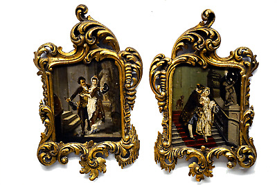 Pair of 19th Century French Paintings