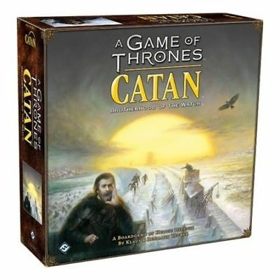 A Game Of Thrones Catan Brotherhood Of The Watch. Brand New Ready To Ship