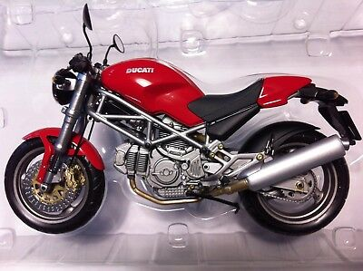 Minichamps 1:12 Ducati Monster (620, 750, 900) I.E. Black, Red, Yellow or Grey