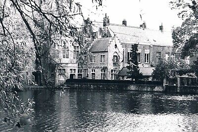 """""""the Canals & Architecture Of Bruges, Belgium"""", Ed. 2 Of 3 Silver Gelatin Print"""