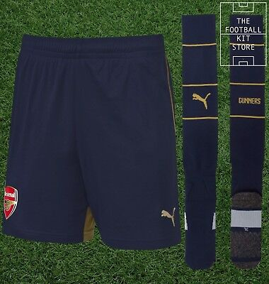 Arsenal Away Shorts & Socks - Puma AFC Football - Boys - All Sizes